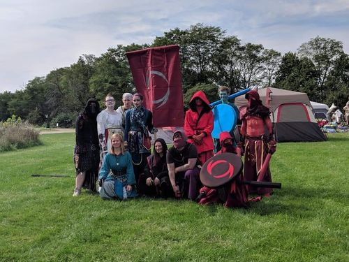 Lizardfolk at Okfest '19
